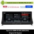 Android 8.1 Auto Audio Vdieo Player für BMW Z4 E89 (2009-2018) original CIC System Auto original Bildschirm zu aktualisieren