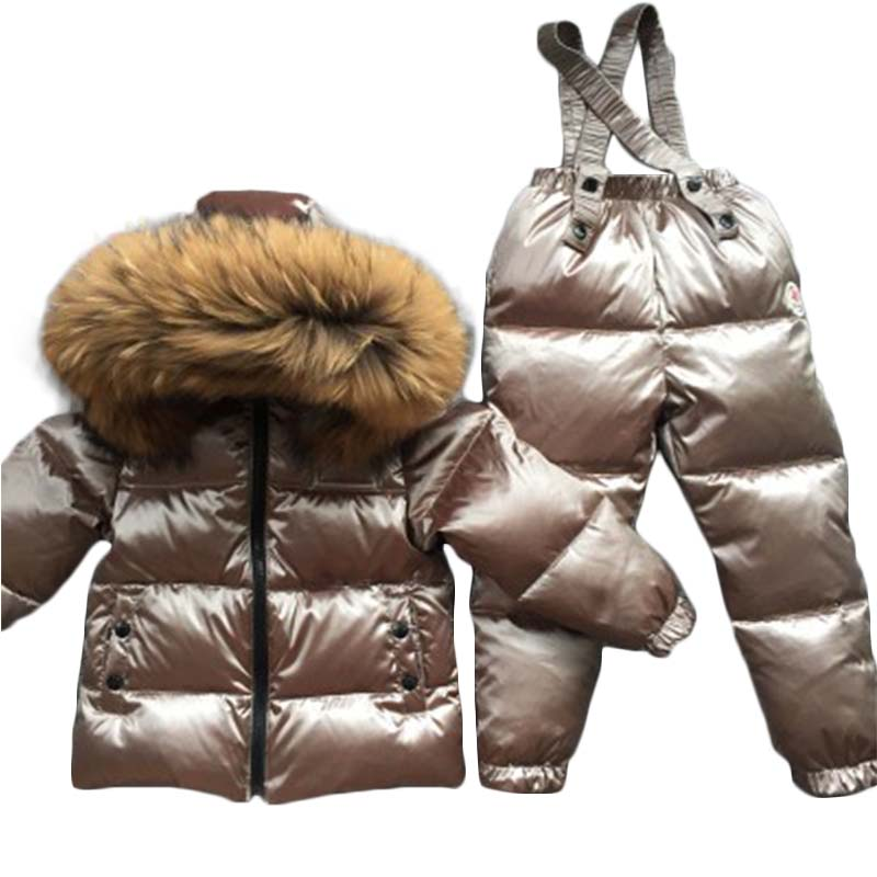 Kids Clothes Sets Kids Clothes Sets Waterproof Windproof Sporty Ski Suit winter Children girls Outerwear boys Warm Coat 20# boys outerwear warm coat sporty ski suit kids clothes sets waterproof windproof boys jackets coat for 30 degree
