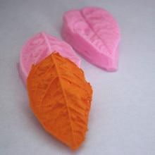 Форма для выпечки в форме листа глиняные формы для торта Мыло шоколадная форма для кухни выпечки FM072