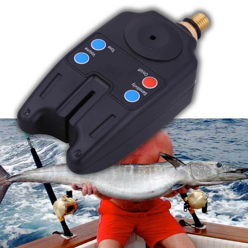 Fishing Bite Alarm Water Resistant Adjustable Tone Volume Sensitivity Sound Alert for Fishing new Баллон для дайвинга