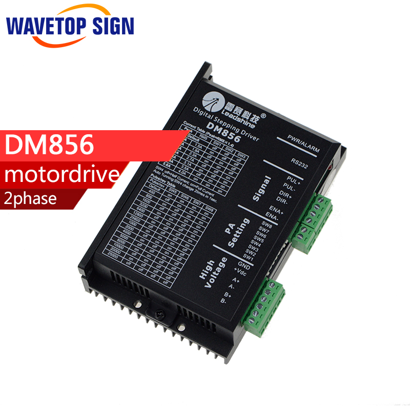 Leadshine Driver DM856 2-phase stepper Driver For cnc Router Laser engraving Machine 2-phase Step литвинова а литвинов с аватар судьбы