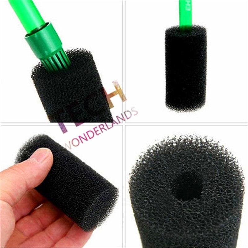 5 pcs spécial de protection éponge pour filtre tuyau d'entrée pour aquarium réservoir de poissons et crevettes réservoir noir couleur