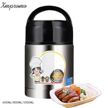 Stainless Steel Vacuum Stew Pot Thermos For Food Soup With Containers Travel Launch Picnic Box Mug Sports Bottle Outdoor VF022