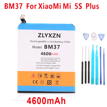 3.85V BM37 4600mAh Cellular Cellphone Rechargeable Batteries For Xiaomi Mi 5S plus Battery Mi5s Plus Battery in Inventory +instruments