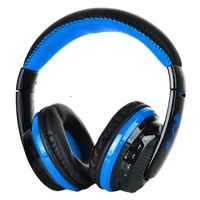 New Bluetooth Headphone Voice Headset W Microphone FM SD Card Headset For PC Laptop Phone MP3