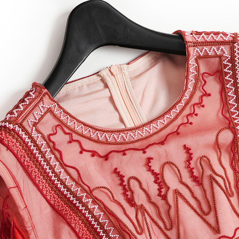 Atractivo Vestidos De Fiesta Rojo Vendimia Modelo - Ideas de ...