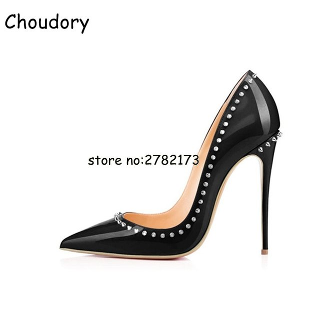 5955c008243f Online Shop Best-selling Pointed Toe Slip-on Lady Black Leather High ...