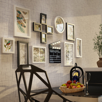 13 Pcs Photo Frames For Picture Wooden Vintage Photo Frame Set With Hang Decorations Home Wall