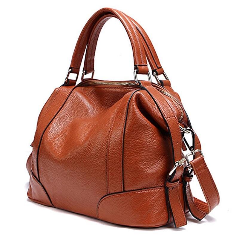 กระเป๋าถือผู้หญิง 2019 ของแท้หนังผู้หญิงกระเป๋าไหล่กระเป๋าสุภาพสตรีกระเป๋า messenger กระเป๋า bolsos mujer sac หลัก-ใน กระเป๋าหูหิ้วด้านบน จาก สัมภาระและกระเป๋า บน   1