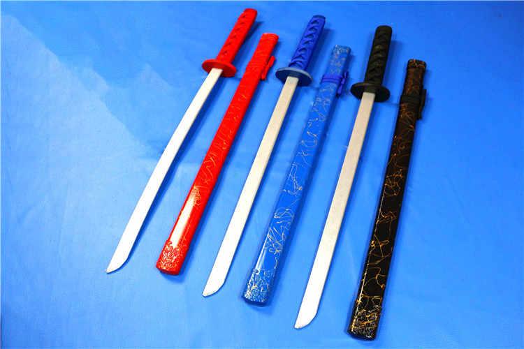 Đồ chơi trẻ em bằng gỗ thanh kiếm Nhật Katana Đồ chơi kiếm gỗ dao Kiếm đồ chơi cho trẻ em Vận chuyển miễn phí