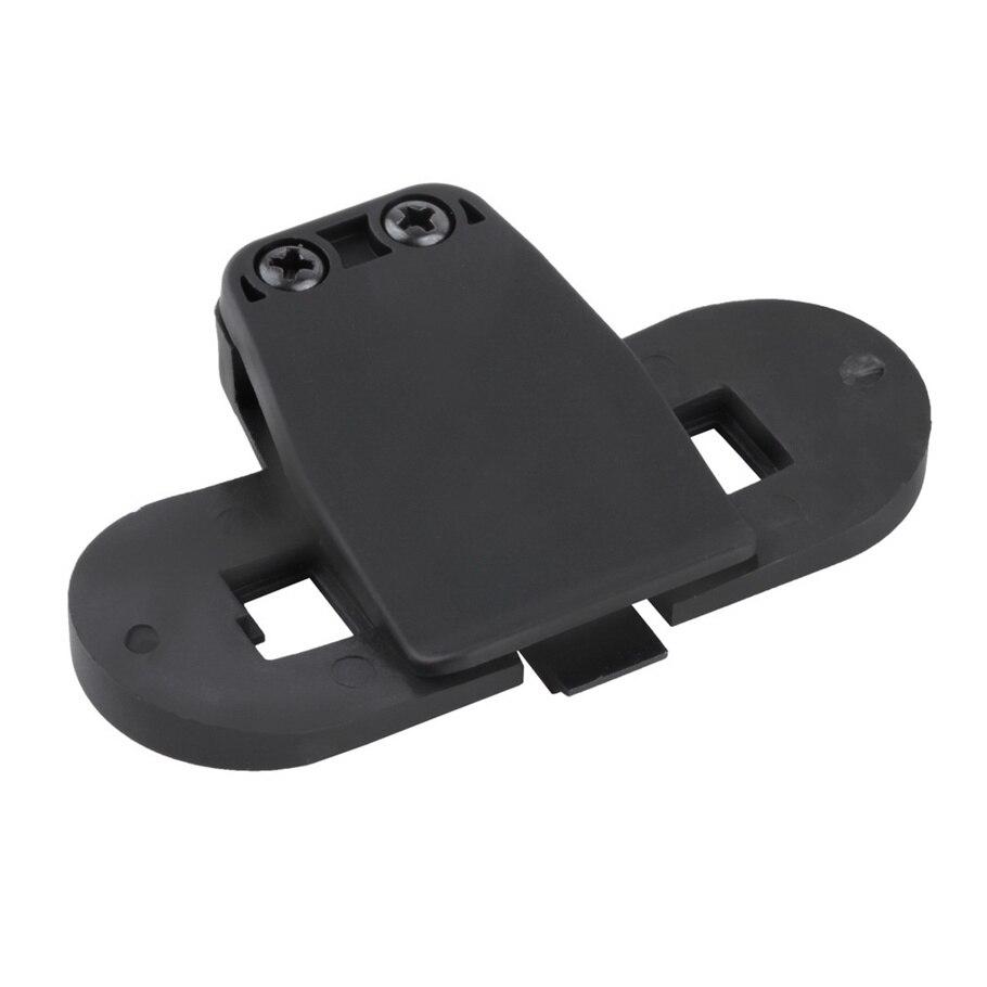 New Black ABS Waterproof Bracket/Clip Holder for Motorcycle Interphone Helmet hot selling bz bz66 motorcycle frame bracket holder for gopro sj4000 black