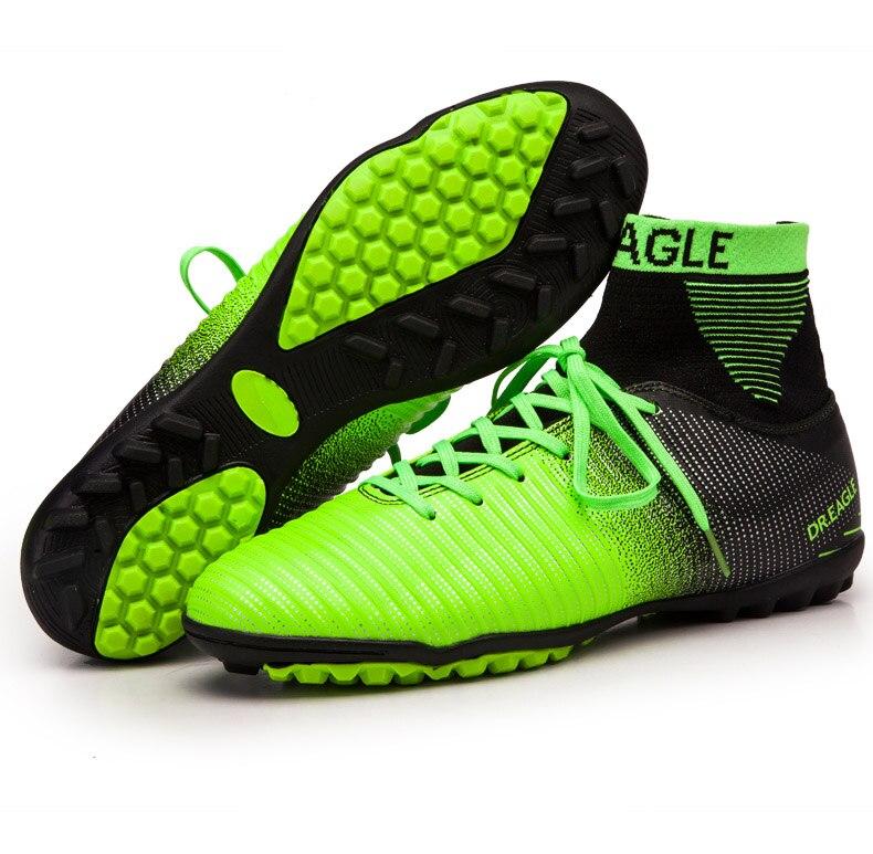 854501398c1e Dropwow DR.EAGLE indoor turf TF crampon high ankle futsal football ...