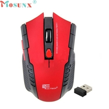 Top Quality Mosunx 2.4Ghz Mini Portable Wireless Optical Gaming Mouse For PC Laptop Tech Mice For Pro Gamer Professional Mouse