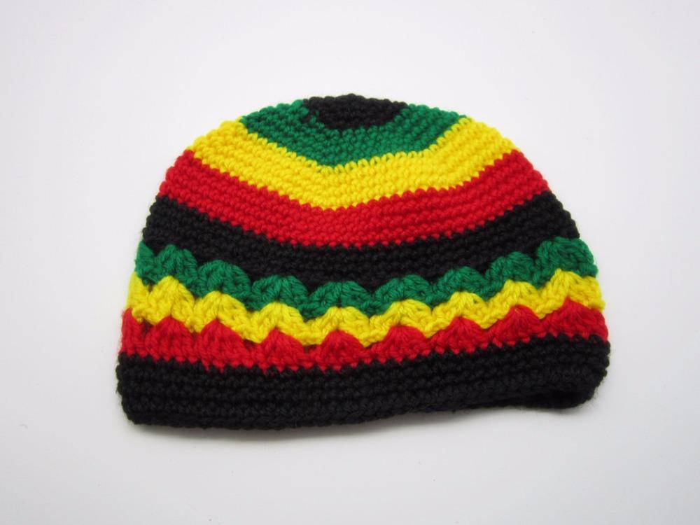 Reggae Rasta Roots Africa Rastafari Jamaica Bob Marley Hats winter warm  handmade crochet hats Caps Beanies 475f4dc50cf