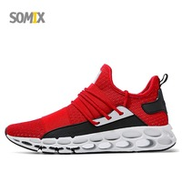 2018 New Super Cool Running Shoes For Men TPU Cushioning Soles Men Sneakers Breathable Sport Shoes