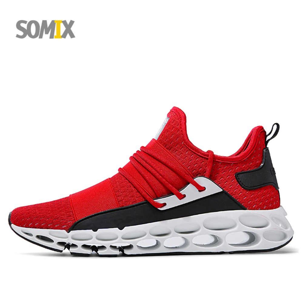 2018 New Super Cool Running Shoes for Men TPU Cushioning Soles Men Sneakers Breathable Sport Shoes Walking Athletic Shoes Male super cool breathable running shoes men sneakers bounce summer outdoor sport shoes professional training shoes plus size 46