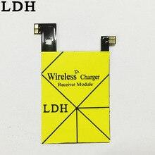 Ци Беспроводной Зарядное Устройство Зарядки Наклейка Приемник С NFC IC Чип Для LG V10