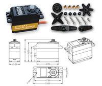 KINGMAX KM4805D Digital Plastic Gear Servo Dual Ball Bearing For ALIGN T Rex 550/600