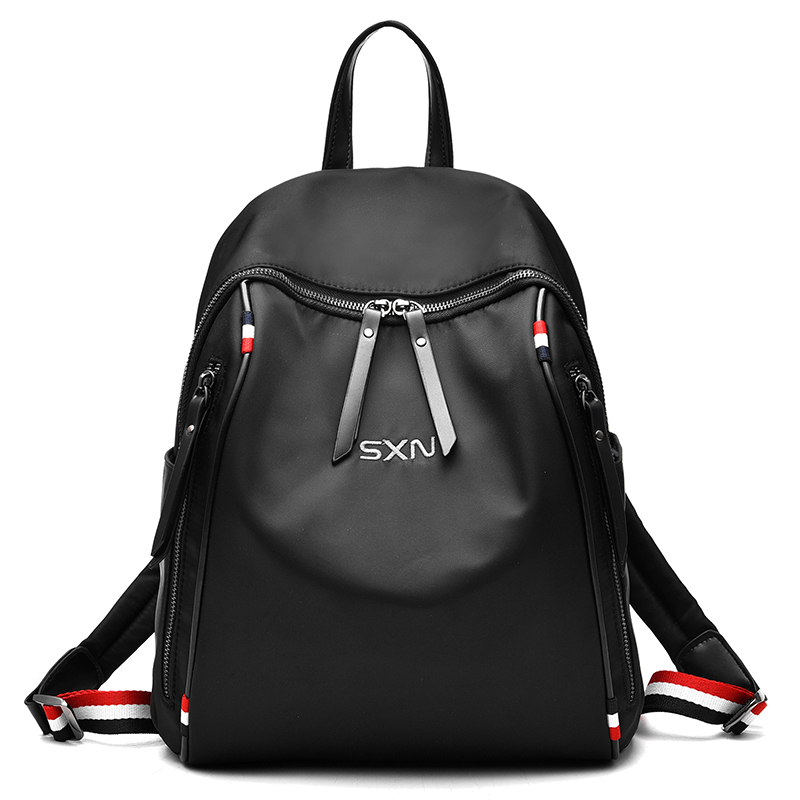 Aoeo Backpack Female Zipper Fashion Oxford Waterproof Bagpack Quality Durable Ladies Bags For Girls Student Women Backpack