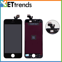 Only White Color In Stock Original New LCD Display Touch Digitizer With Frame Replacement For IPhone