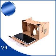 Cdragon vr óculos de papelão apoio 6 polegadas telefone frete grátis