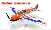 Dynam 1660mm Balsa Smoove RC Airplane KIT CF Propeller Model W/O ESC Motor
