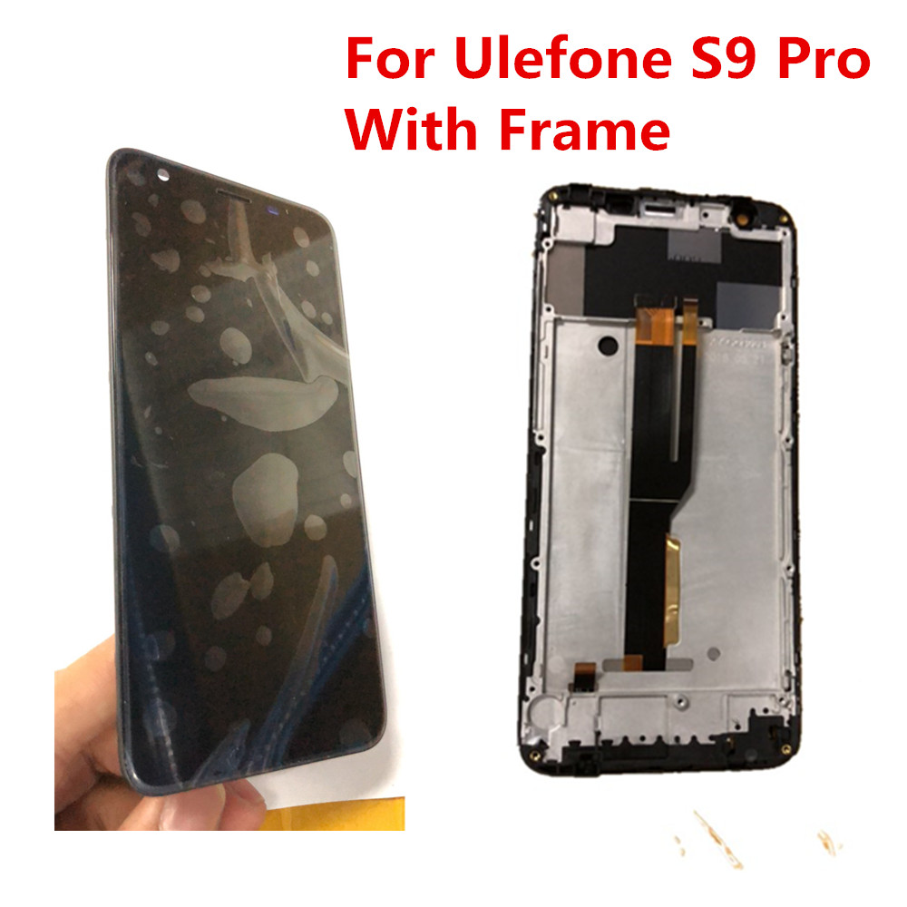 Repair Tools New For Ulefone S9 Pro LCD Display Digitizer With Frame Touch Screen Assemblely Glass
