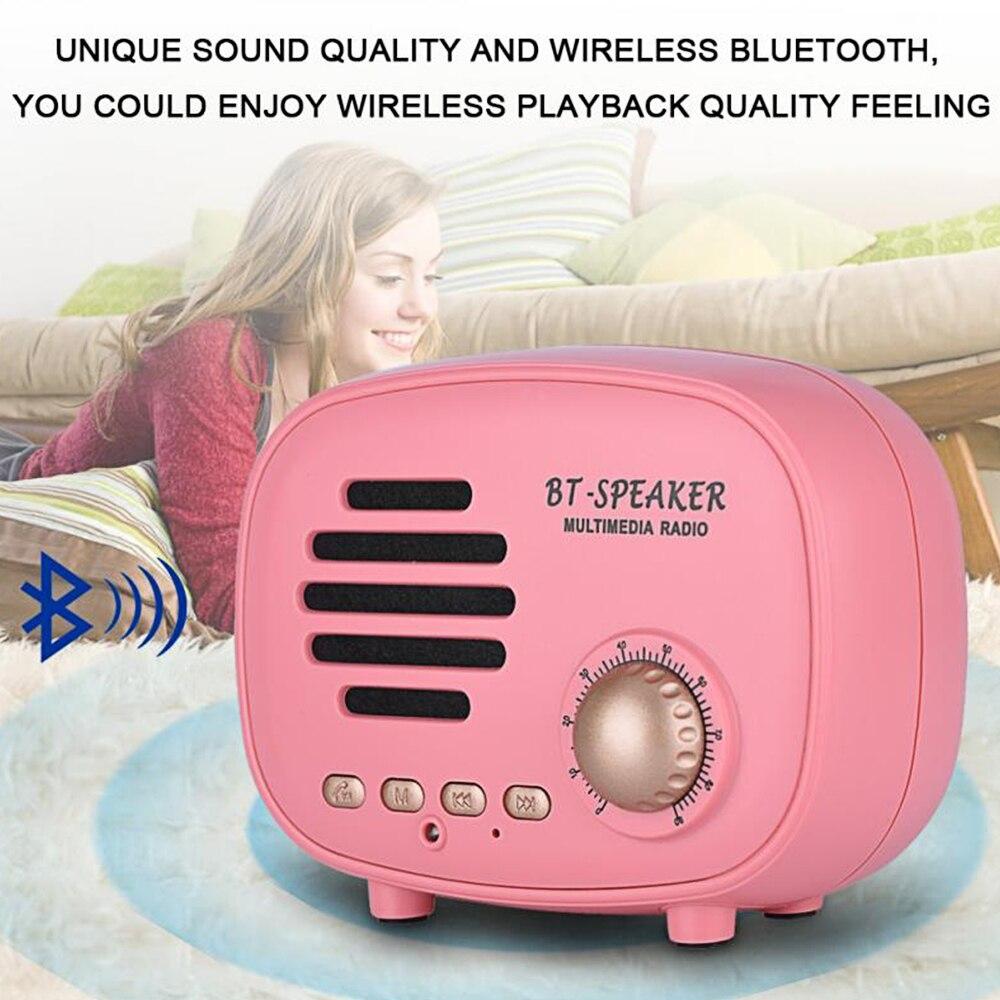 Classic radio Mini Portable Bluetooth Speaker (8)