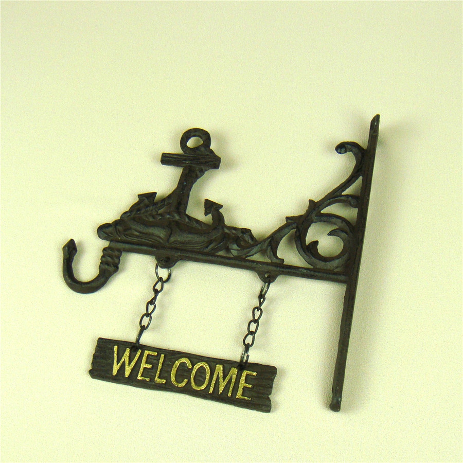 Dorable Welcome Wall Decor Plaques Embellishment - The Wall Art ...