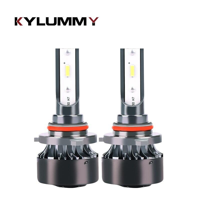 Car Lights LED H4 H7 H11 H1 H3 9005 9006 CSP LED Headlight Bulbs High-Low Beam DC12V 24V 6000K Pure White 55W 7200Lm Headlamps cnsunnylight car led headlight bulbs all in one h7 h11 h1 880 h3 9005 9006 9012 5202 72w 8500lm h4 h13 9007 high low beam lights