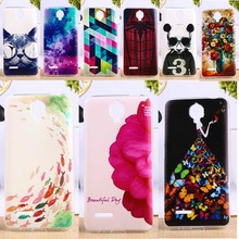 Soft TPU Phone Cover For Alcatel OneTouch Idol 2 Mini L 6014 Cases Anti-Knock DIY Painted Cell Phone Housings