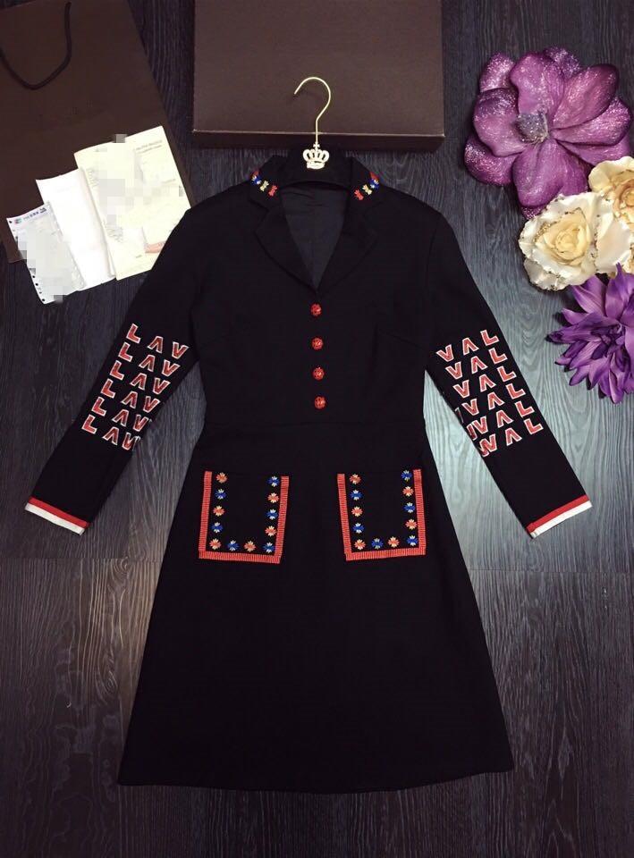 Partie Haute Style De Design Femmes D11646 Luxe Européenne Robe 2019 Nouvelles Printemps Marque Qualité Mode rq7wOrxS