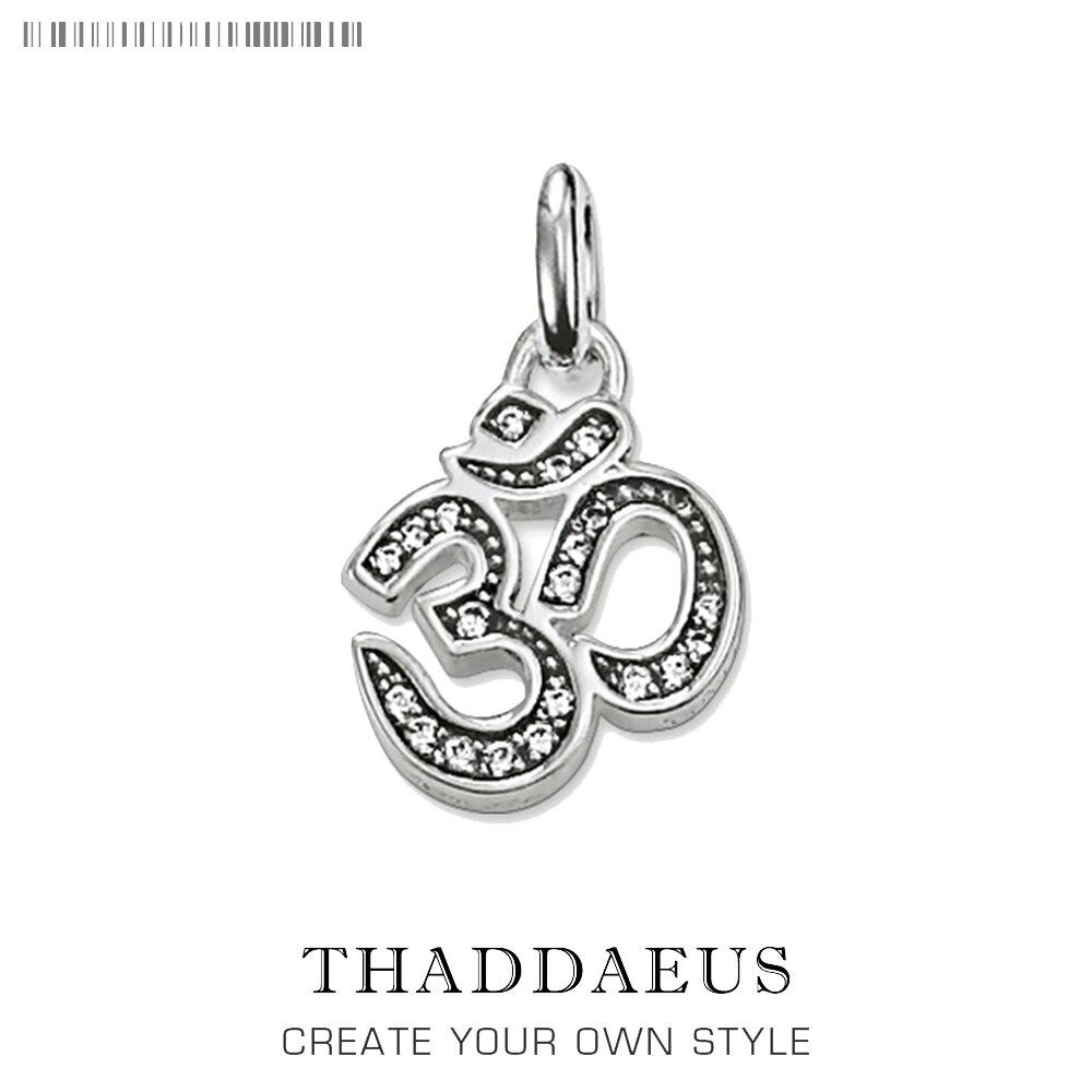 Pendentif Yoga OM Mani Padme Hum S,2017 marque Bijoux Vintage Thomas Style Bijoux collier accessoires cadeau pour Ts Soul femme hommes