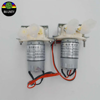 Micro JYY 4w 24V DC 100 130ml Min Peristaltic Ink Pump For Dx5 For Allwin Human