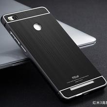 Оригинальный Xiaomi Redmi 3 S чехол матовый PC задняя крышка и Алюминиевый металлический каркас Жесткий Телефон Чехлы для Xiaomi Redmi 3 Pro для Redmi 3