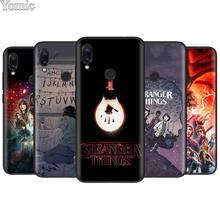 Stranger Things for Xiaomi Redmi 7 6 5 Note Pro 4X 5A 6A S2 GO Poco F1 TPU Black Soft Case Silicone Phone Cover