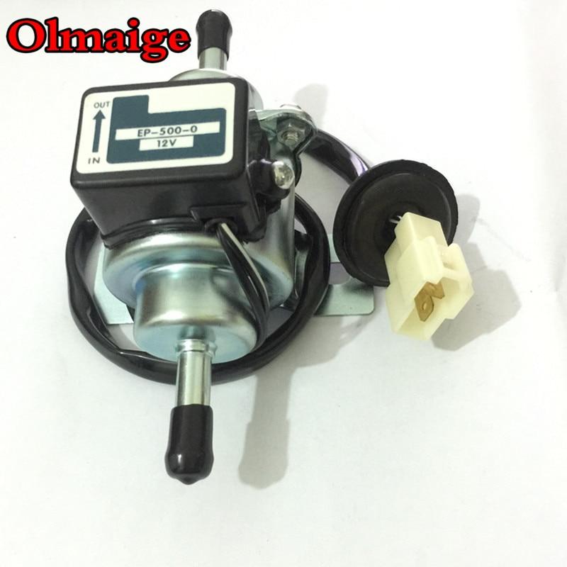 Hoge Kwaliteit 12V EP-500-0 035000-0460 Diesel Benzine Zine Case Universele Auto Brandstofpomp