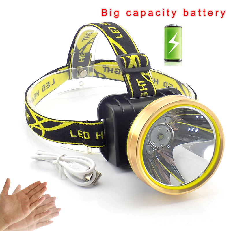 15 Lamp Head 2 File Glare Field Searchlight Led Charging Flashlight Cave Light Rechargeable Led Light Searchlight Lights & Lighting