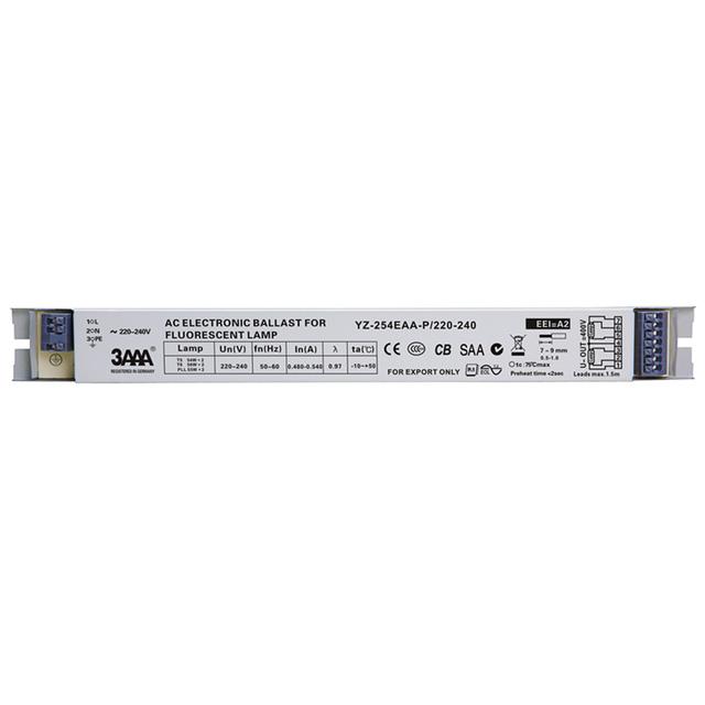 3AAA YZ-254EAA 220-240V 2*54W T5 Electronic Ballasts For T5 HO Tube Fluorescent Lamp Aquarium Lamp 58W*2 T8 Rectifier