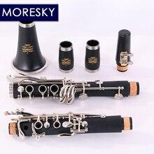 MORESKY кларнет 17 ключ падающая Мелодия B/трубы ABS Материал корпуса кларнет
