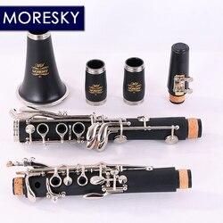 MORESKY Klarinette 17 Schlüssel Fallen Tune B /ABS rohr körper material Klarinette