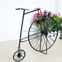 Freies verschiffen metall-handwerk retro fahrrad Spielzeug handmade Vintage bike modell mode shop/pub/home dekoration