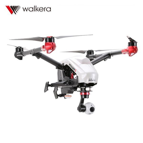 Voyager 3 GPS Drone RC Quadcopter Walkera Devo F12E G-3D Gimbal ILook plus cámara FPV RTF VS walkera scouts x4