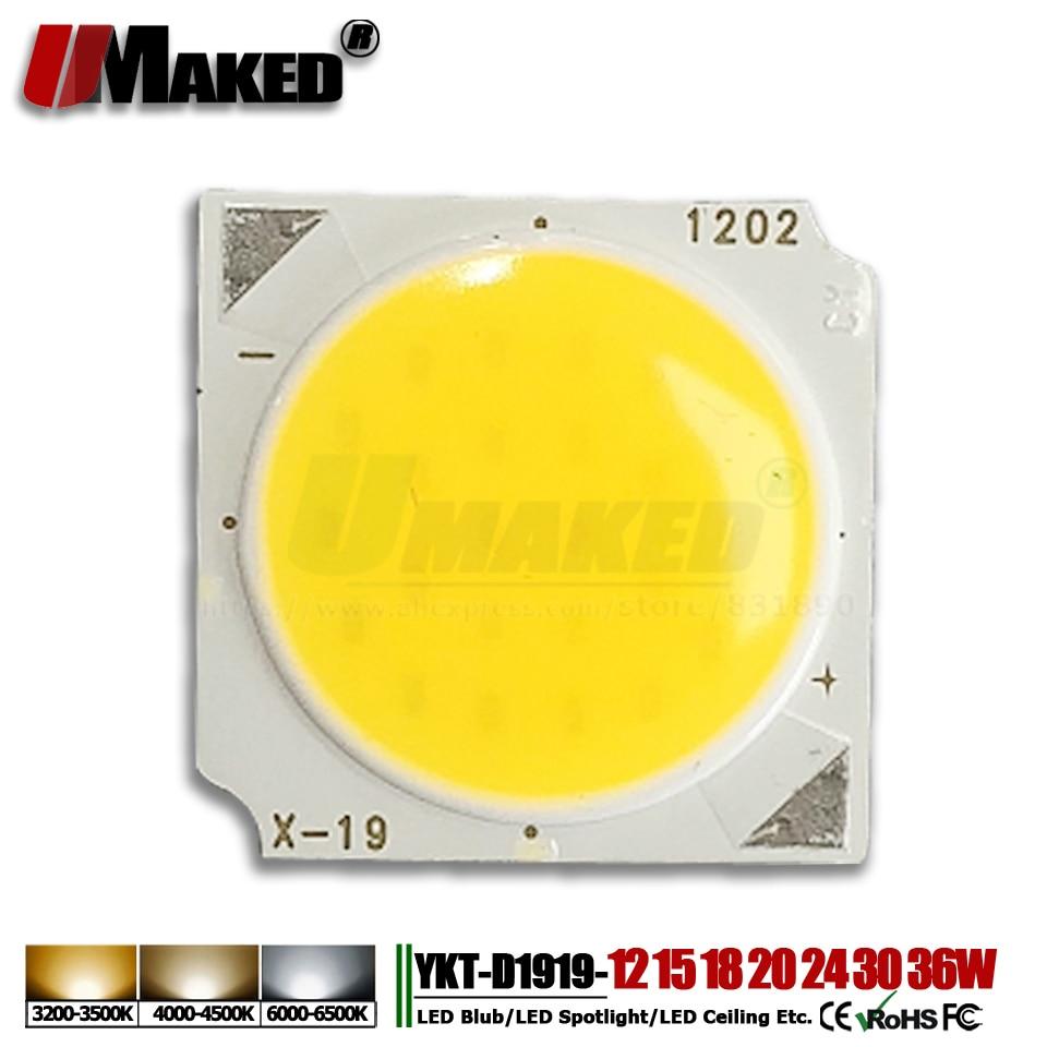 10pc New Flip LED Chips 10W 12W 15W 18W 20W 24W 30W 36W 1919 SMD COB Diode 14x30mil Light Bead For LED Bulb Ceiling Spotlight