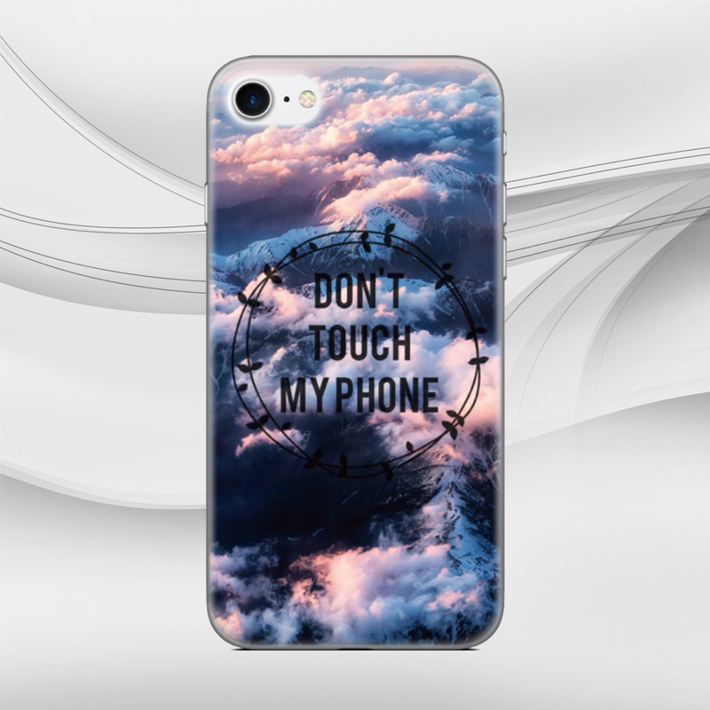 1aa5fc35b6c Don't Touch My Phone Capa Cover For Sony Xperia L1 X XA XZ Z1 Z2 Z3 Z5 XZ1  Compact Mini M C1904 C1905 M2 Phone Case Fundas Coque-in Fitted Cases from  ...