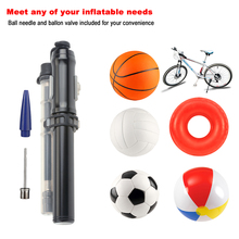 Compare Prices Portable High Pressure PSI Mini Bike Air Pump Fits Presta and Schrader Cycling Mountain Bike Tire Pump Ball Inflator