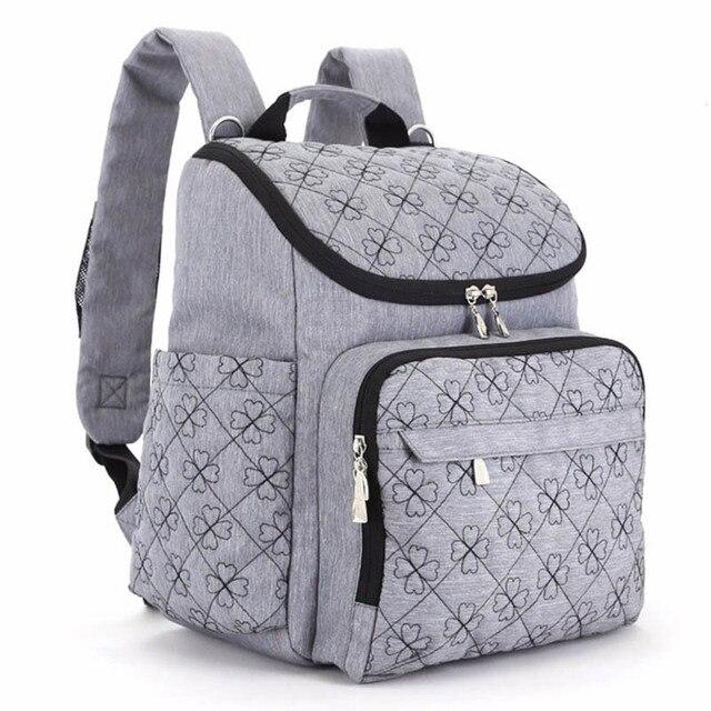 Diaper Bag Fashion Mummy Maternity Nappy Bag Brand Baby Travel Backpack  Diaper Organizer Nursing Bag For