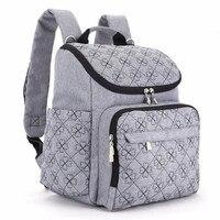 LAND Diaper Bag Fashion Mummy Maternity Nappy Bag Brand Baby Travel Backpack Diaper Organizer Nursing Bag