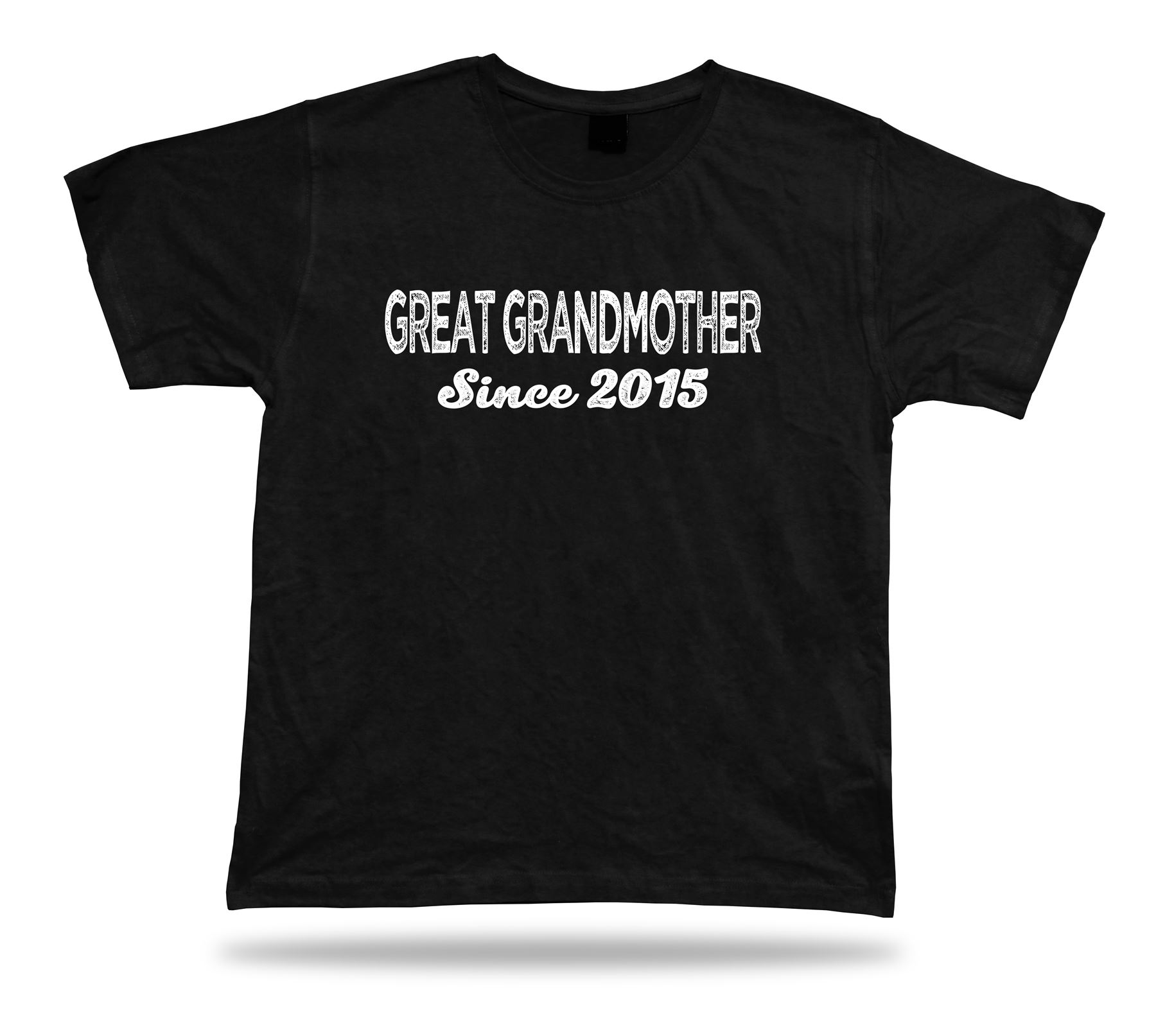 Great Grandmother Since 2015 Awesome Best T Shirt Gift