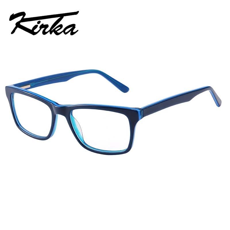 f8cb1dc1b4 Kirka Men s Glasses Frame Male Optical Frame Eyeglasses Clear Glasses  Prescription Eyewear Oculos de grau High Quality New
